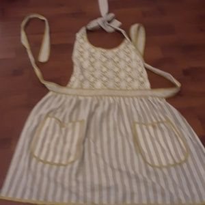 Vintage inspired kitchen apron fits adults sz 2-8